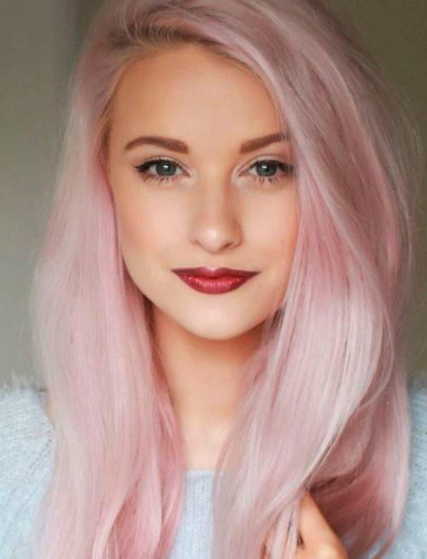 розовый блонд