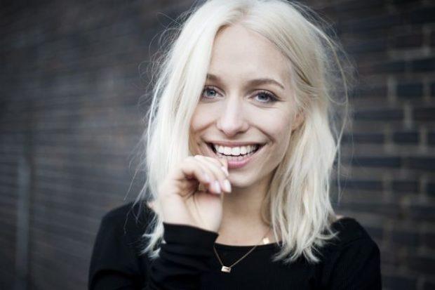 модный цвет волос: платиновый блонд