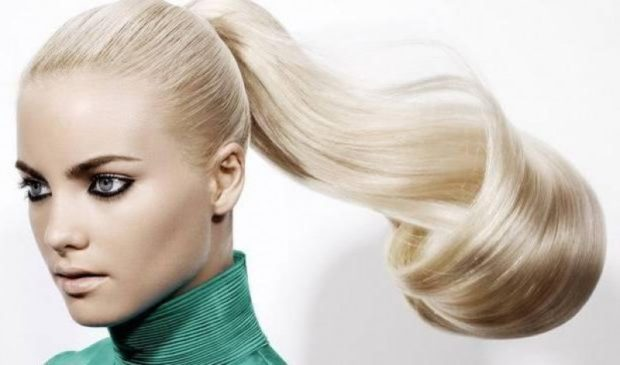модный цвет волос: натуральный платиновый блонд