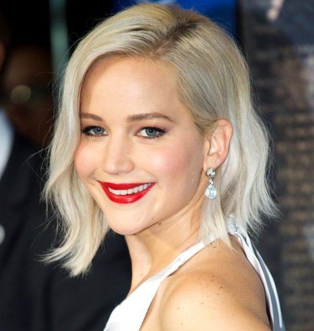 модный цвет волос: платиновый блонд под натуральный