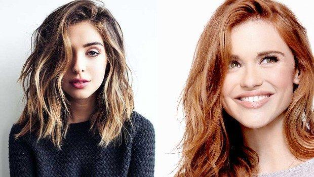 модные цвета волос: золотой блонд рыжие