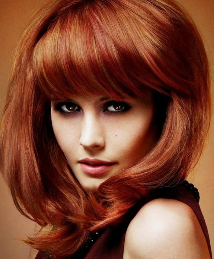 волос рыжий с золотом