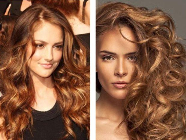 модные цвета волос: светло-каштановые