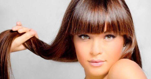 модные цвета волос: натуральный каштановый цвет