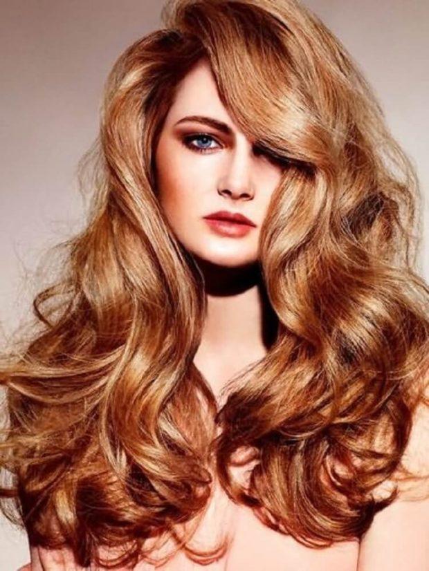 модный цвет волос: золотой блонд