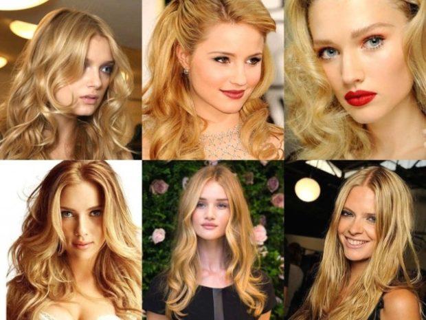 оттенки блонда под натуральный