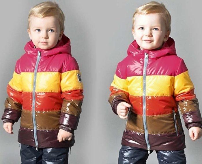 куртки осень 2021 детские
