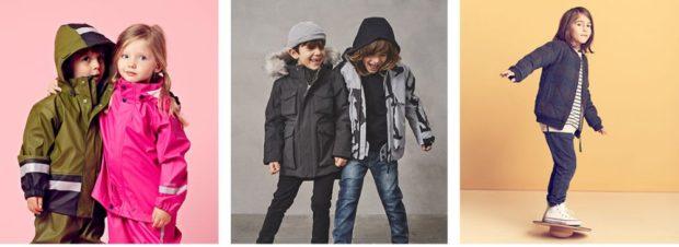 куртки зимние для мальчиков и девочек