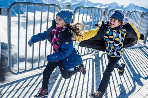 детские куртки зимние синяя желтая