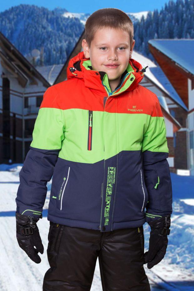 детские куртки зима для мальчиков: спортивная яркая