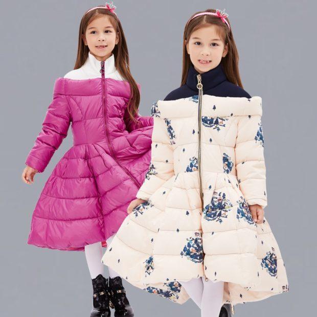 детские модные куртки для девочек: платья осень зима 2019-2020