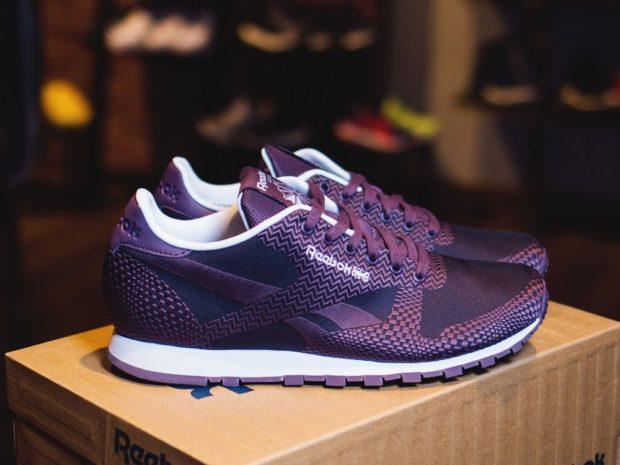 кроссовки темно-фиолетовые