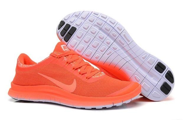 кроссовки унисекс оранжевые