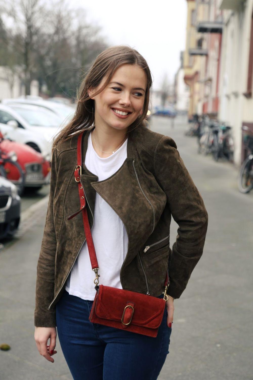 замшевая куртка коричнево-зеленая