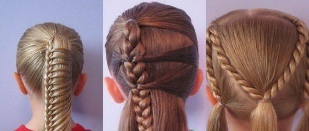 модные стрижки для девочек: оригинальные косы