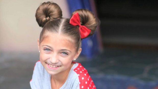 модные стрижки для девочек: две гульки