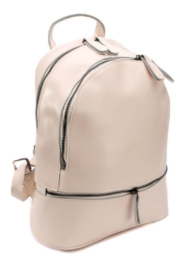Модные рюкзаки 2019-2020: кожа розовый