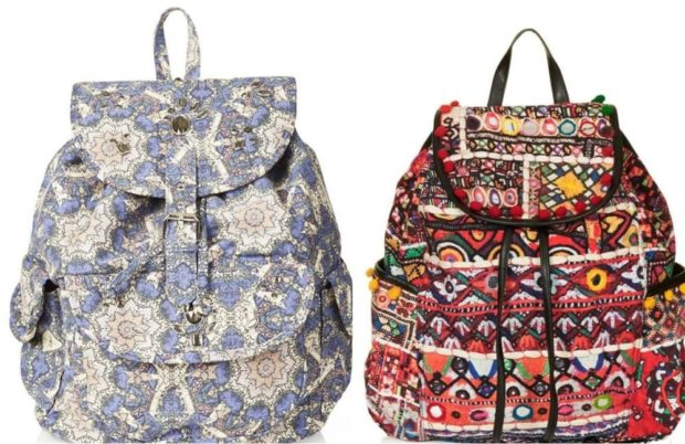 спортивные рюкзаки мешковатые в принт