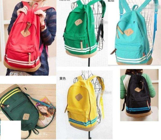 спортивные рюкзаки красный зеленый голубой желтый черный