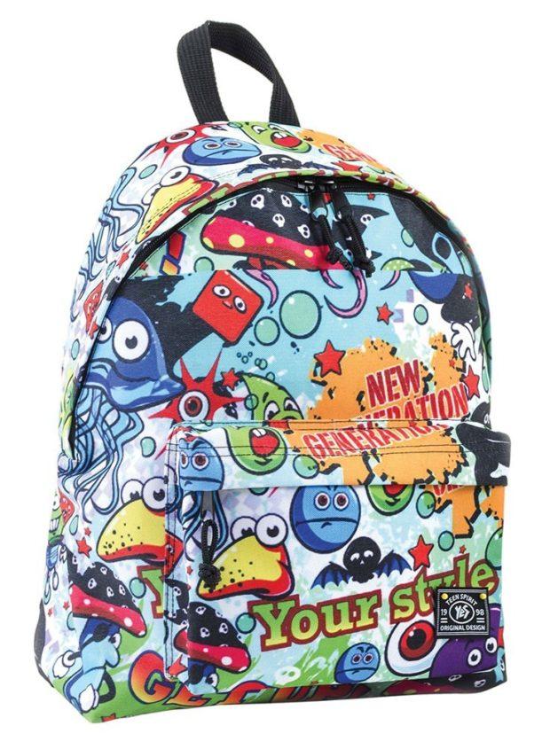 рюкзак тканевый яркий цветной