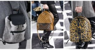 Модные рюкзаки 2019-2020 года: тренды
