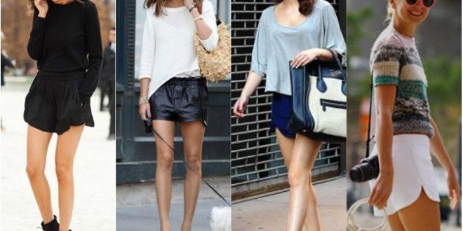 Модные шорты лето 2020