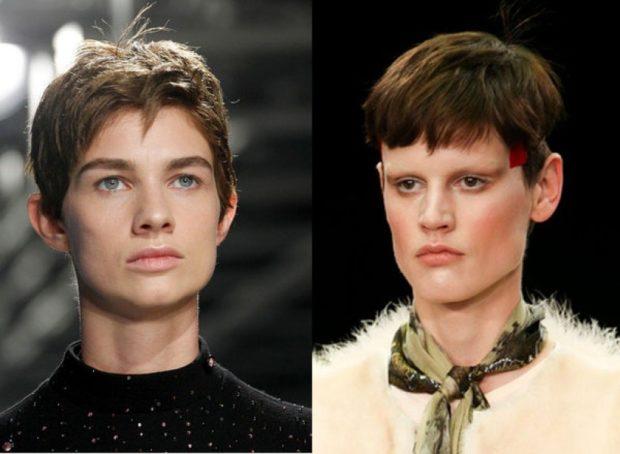 стрижка на короткие волосы 2018 2019 модные тренды: ультрокороткие асимметрия