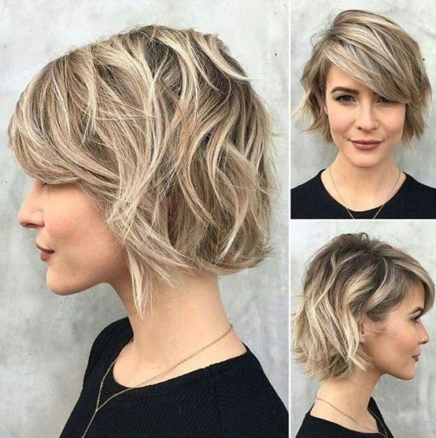 модные короткие женские стрижки 2018 2019: каскад челка косая