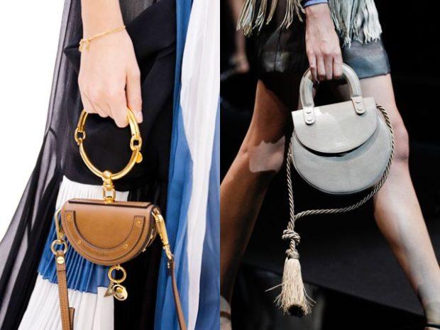 сумки-лилипуты оригинальная форма коричневая серая
