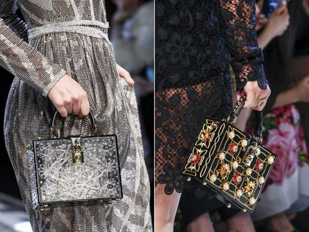 сумки чемоданы серебро с узорами черная с золотом