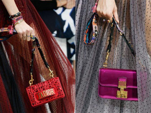 модные сумки весна: маленькие на длинном ремешке