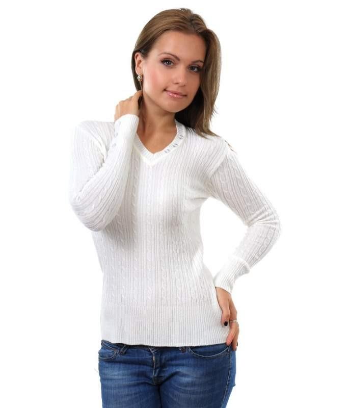 свитер тонкий белый