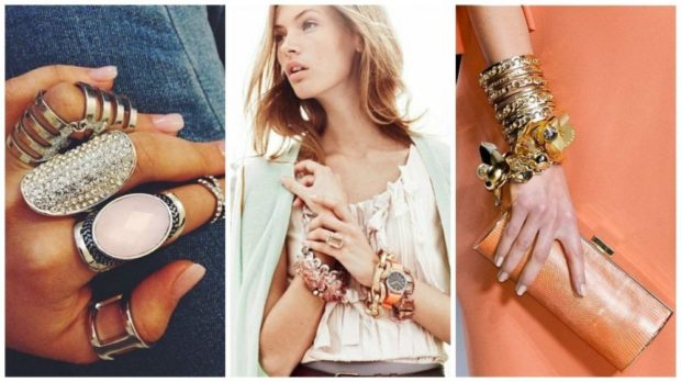 обьемные украшения кольца браслеты