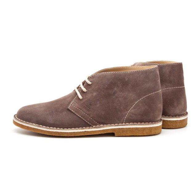 мужская обувь осень зима 2019-2020: замшевые ботинки коричневые короткие