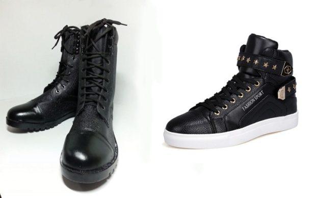 мужская обувь осень зима 2018-2019: ботинки на шнурках кеды
