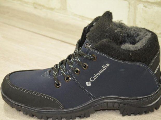 модная мужская обувь осень зима 2019-2020: спортивные сапоги с мехом на толстой подошве