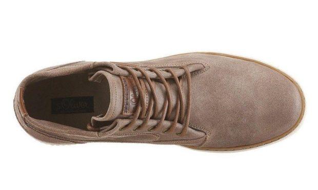 модная мужская обувь осень зима 2019-2020: ботинки серо-коричневые