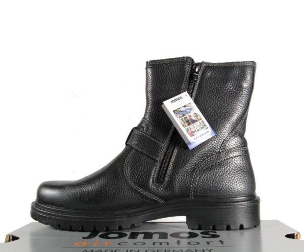 зимняя обувь мужская 2018-2019: сапоги кожаные