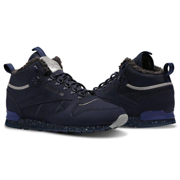 мужская обувь осень зима 2018-2019: кроссовки синие