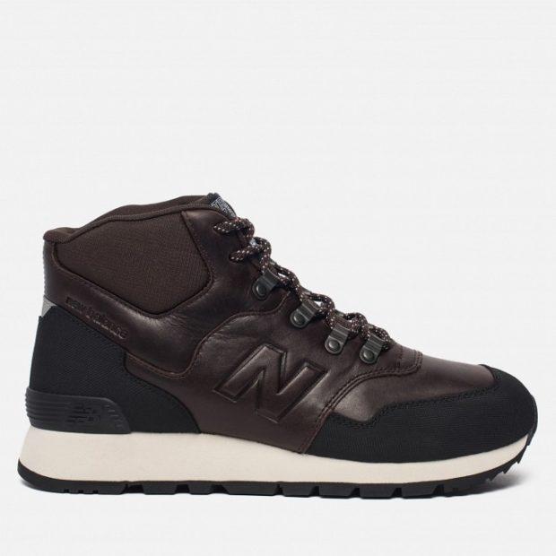 модная мужская обувь осень зима 2018-2019: кроссовки коричневые на толстой подошве белой