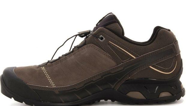 модная мужская обувь осень зима 2018-2019: кроссовки коричневые