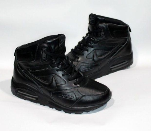 модная мужская обувь осень зима 2018-2019: кроссовки черные
