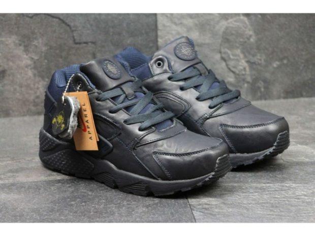 кроссовки черные на толстой подошве