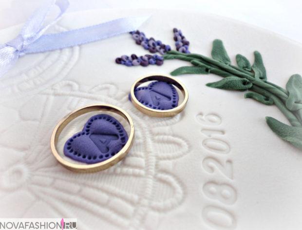 Обручальные кольца 2019-2020: два классических кольца на свадьбу из золота желтого