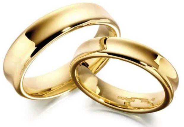 Обручальные кольца 2019-2020: на свадьбу простые