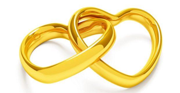 Обручальные кольца 2019-2020: на свадьбу в форме сердца