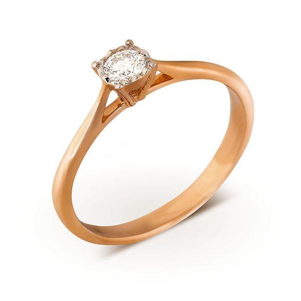 Обручальные кольца 2019-2020: свадебное женское с камнем