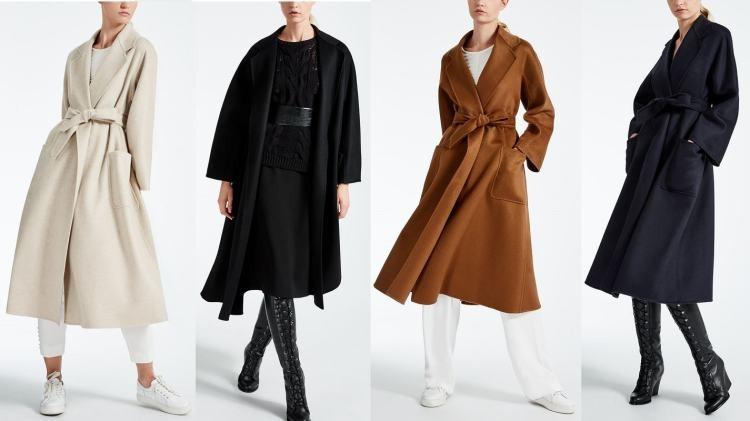 белое пальто черное коричневое темно синее с поясом