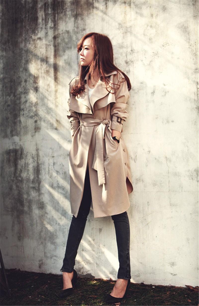 бежевое пальто с поясом