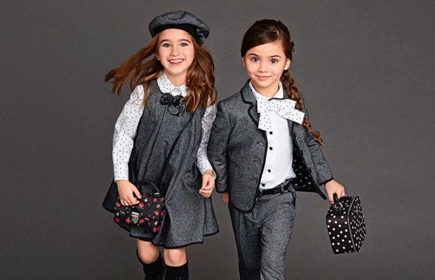 Школьная мода 2019-2020: серый сарафан белая блуза серые брюки и пиджак